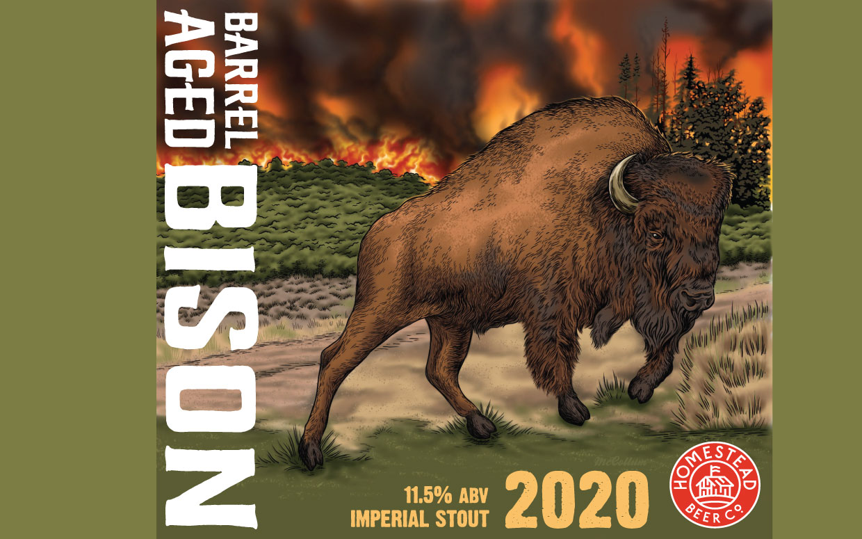 Barrel Aged Bison 2020